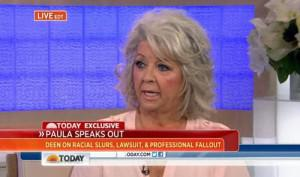 Paula Deen takes her tearful apology tour to the Today Show on Wednesday.