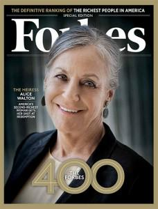 Alice Walton, heiress and art aficionado. Photo: Tim Pannell for Forbes.