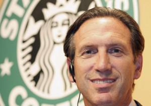 Starbucks CEO Howard Schultz Tells Customers To Leave Guns At Home