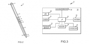 One of Apple's patents describing an optical patent (Source: USPTO via UBS)