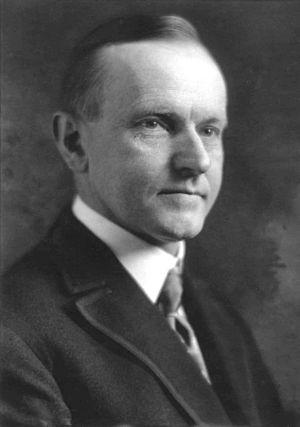 English: Calvin Coolidge.
