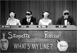 What's My Line? was a long-running prime-time game show that left the air in 1967.