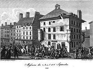 English: September Massacres during the French...