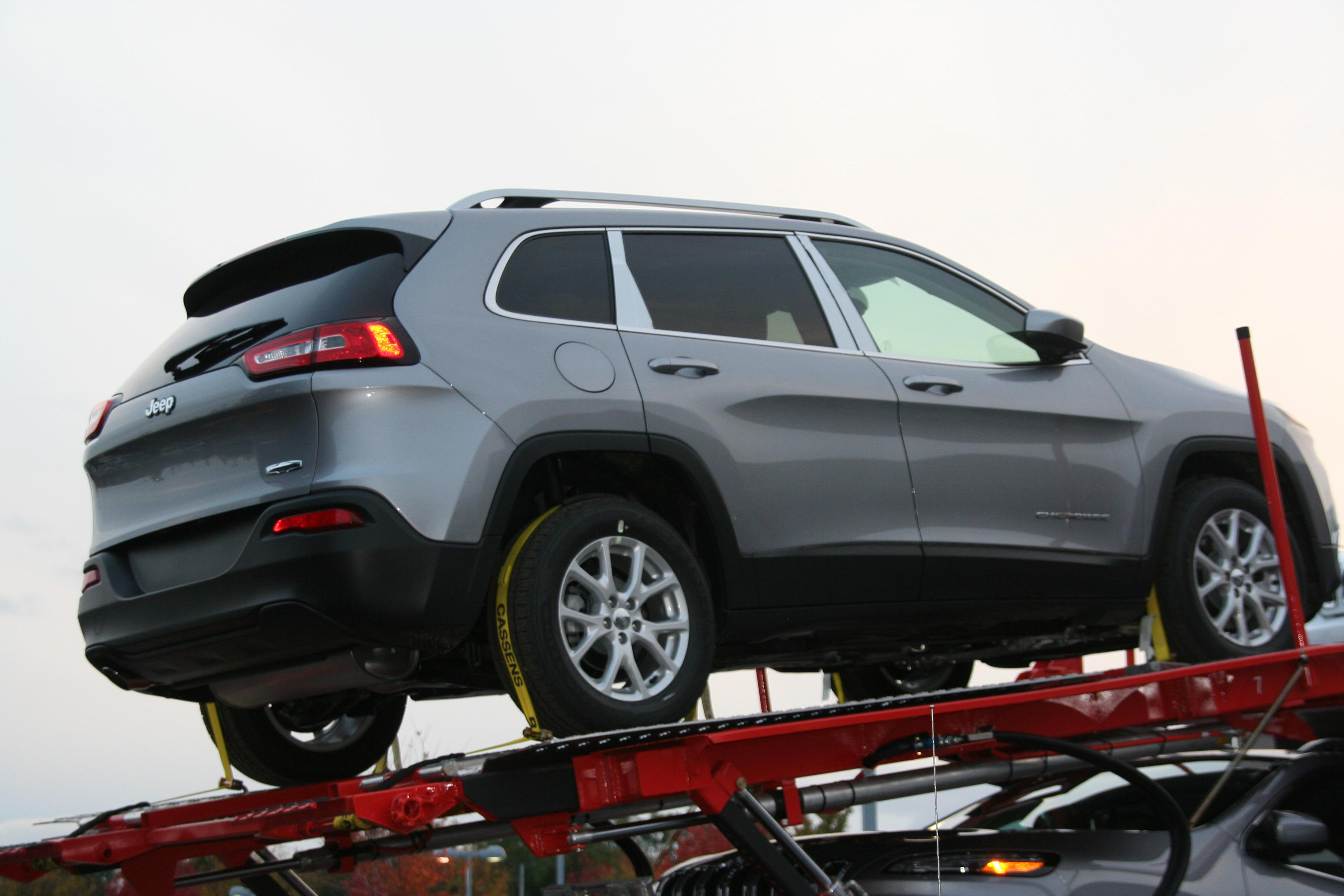 Chrysler is counting on a big sales year from Jeep Cherokee.