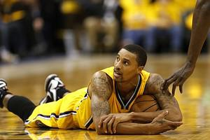 After suffering a concussion, George Hill of the Indiana Pacers will miss Thursday's game against the New York Knicks.