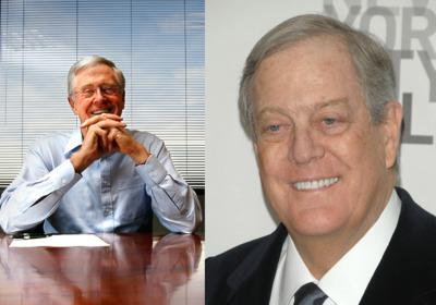 Koch confirms interest in newspapers as marketplace of ideas 39 for Charles und david koch