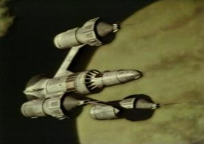 The Liberator, the alien starship used by Blak...