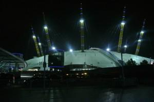 The 02, not exploding cinematically despite CoD's apparent love of blowing up London.