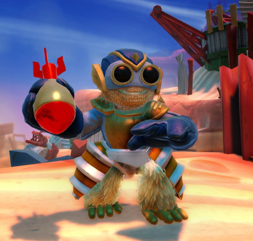 Still the bomb? Skylanders Swap Force faces competition from Disney Infinity and Pokemon this holiday.