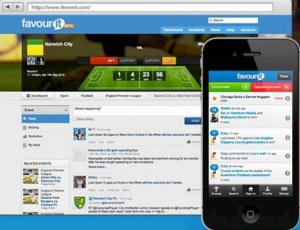 Favorite social betting network