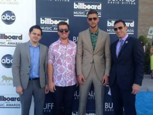 "Chandler Parsons tweeted this picture with his ""crew"" at the Billboard Music Awards. At the far left... [+] is Matt Davis, a Basketball Sports Agent at Relativity Sports."