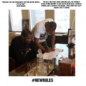 Jay-Z Signs Kevin Durant To Roc Nation Sports. Rival Agents, Are You Not Entertained?
