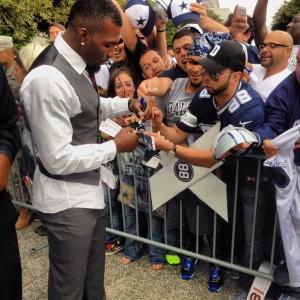 Despite Outbursts Dallas Cowboys Wide Receiver Dez Bryant
