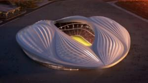 The proposed design of a to-be-built stadium in Qatar has many people already talking about the 2022 World Cup.