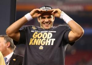 Central Florida quarterback Blake Bortels is one of many underclassmen expected to selected early in the 2014 NFL Draft. Image Credit: Mark J. Rebilas-USA TODAY Sports