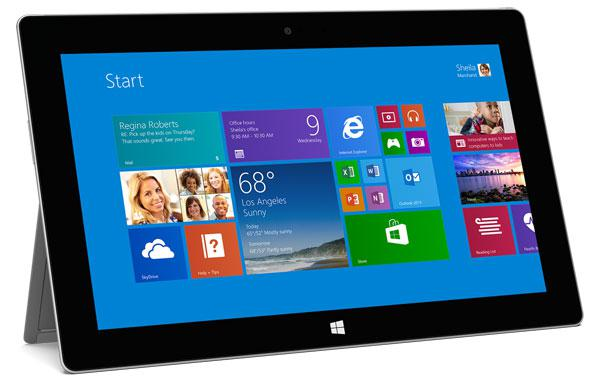 Microsoft Surface 2 With Touch Cover 2
