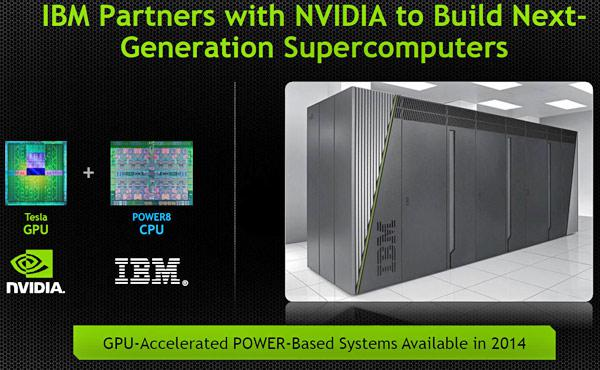 IBM POWER8 Servers And NVIDIA Tesla GPUs