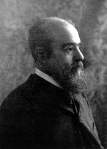 Portrait of Vilfredo Pareto.