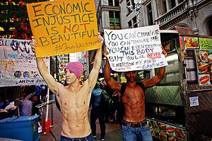 English: Day 40 of Occupy Wall Street in New Y...