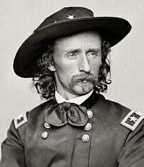 General George Armstrong Custer (photo courtesy of Wikipedia)