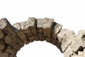 Respect is the keystone (Ancient arch in Olimpia, Greece)