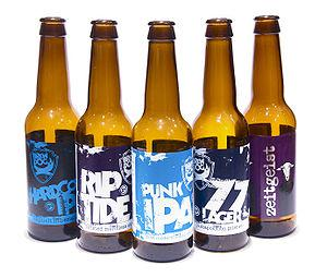 English: A selection of Brewdog beers