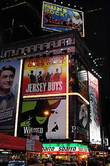 Broadway Ads on Times Square