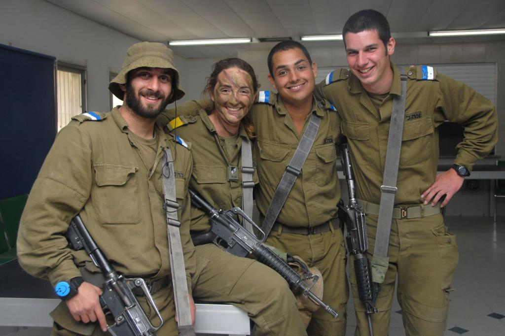 Israel citizens are usually drafted into the Israel Defense Force at 18 and discharged after two to three years of mandatory service. Image credit: Israel Defense Force