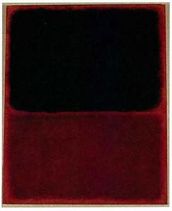 Can you distinguish the work of genius from its poor imitation? Hint: The red paint is a red flag. (A forensics expert said this was a fake Rothko.)