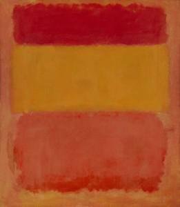Contrast the fake above with the real Rothko shown here. Photo: Christie's Auction House