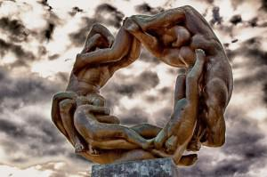 """Circle Of Life,"" Vigeland Sculpture Park, Oslo, Norway. Photo credit: Steve Leimberg, Unseenimages.com"