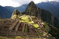 "Machu Picchu, the 15th century ""Lost City of the Incas"" in Peru, is at an altitude of nearly 8,000... [+] feet. Photo: iStock/Ray Hems"