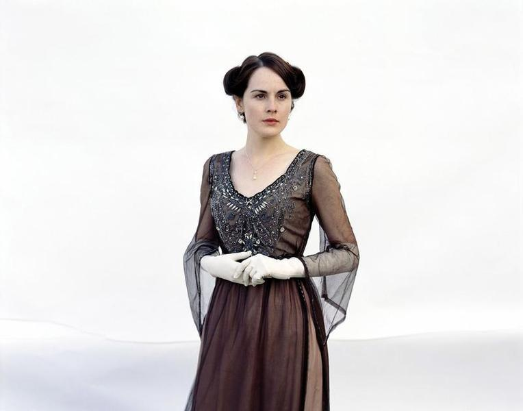 Lawyers wonder whether the creators of Downton Abbey understood Medieval property law or took creative liberties. Either way, the inheritance rights of Mary Crawley (played by Michelle Dockery) are in question. Photo: Carnival Films/Newscom