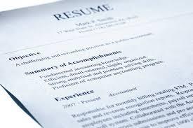 performing an eye catching resume resurrection