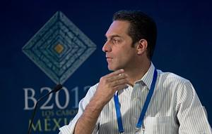 Carlos Slim Domit, son of Mexican tycoon Carlo...