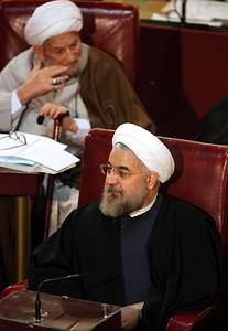 Iran's former chief nuclear negotiator Hassan ...
