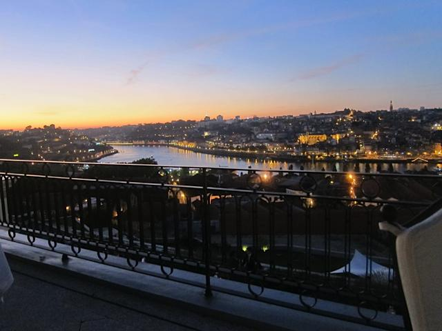 The magnificence of the Douro under dinner in Porto