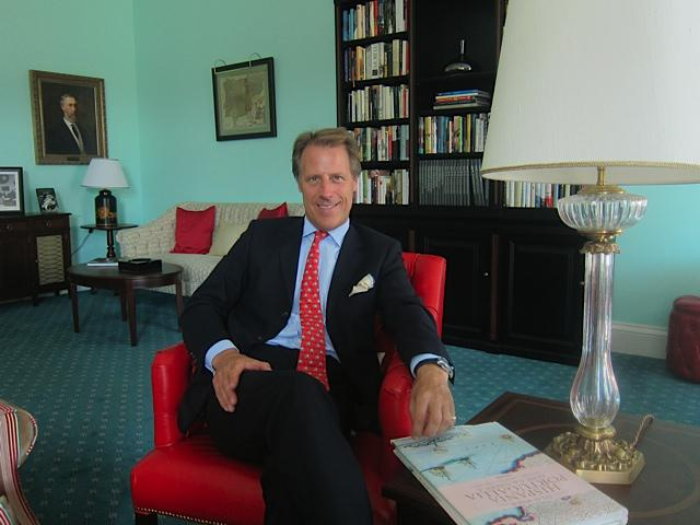 Adrian Bridge, CEO of Taylor Fladgate and The Yeatman Hotel