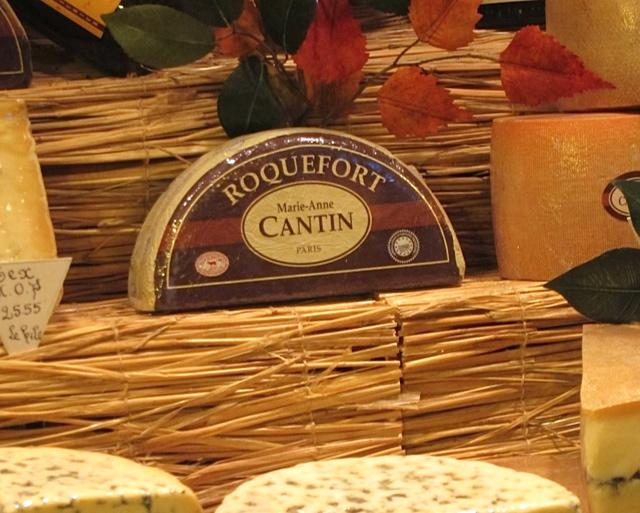 Cantin is so powerful that she has her own Roquefort prepared for her by one of Roquefort's few producers