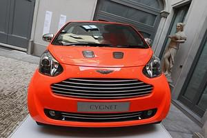 MILAN, ITALY - APRIL 15:  'Aston Martin Cygnet...