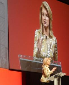 Arianna Huffington keynote on success, work and life balance, and leadership