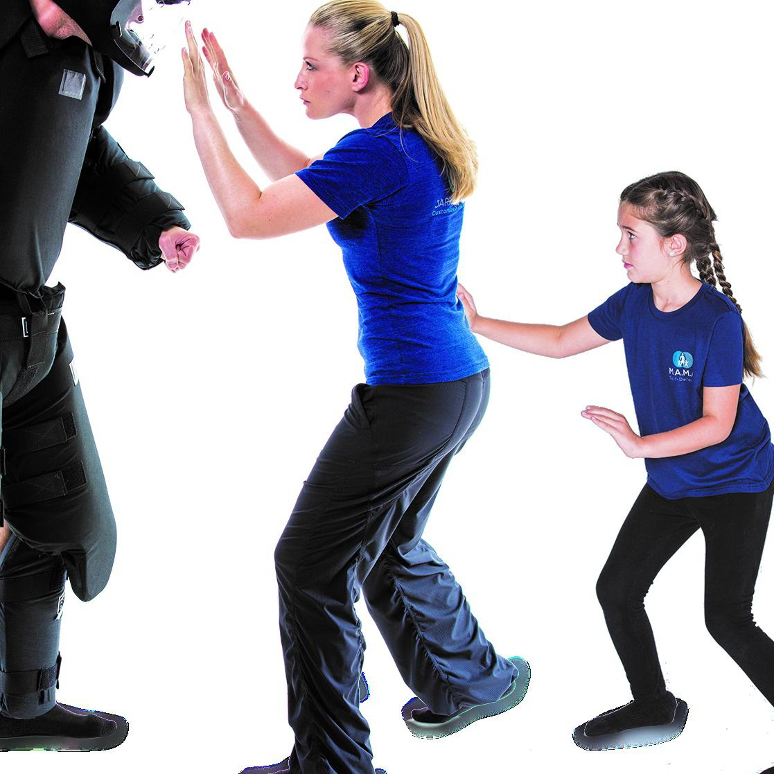 Martial arts pro Jarrett Arthur discovered that many women want to learn practical self-defense strategies that will work if they are with their kids--and find that traditional martial arts classes don't address the scenarios that worry them.
