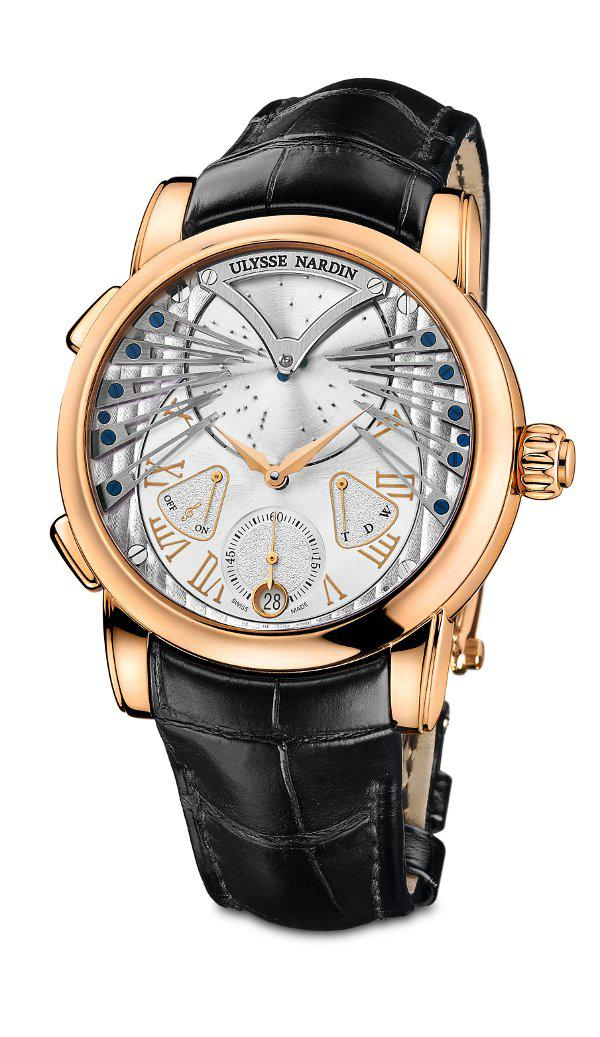 Ulysse Nardin's Stranger represents the first successful music box complication housed within a... [+] wearable wristwatch