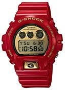 The 6900 is one of the most popular G-Shock styles, here in anniversary red