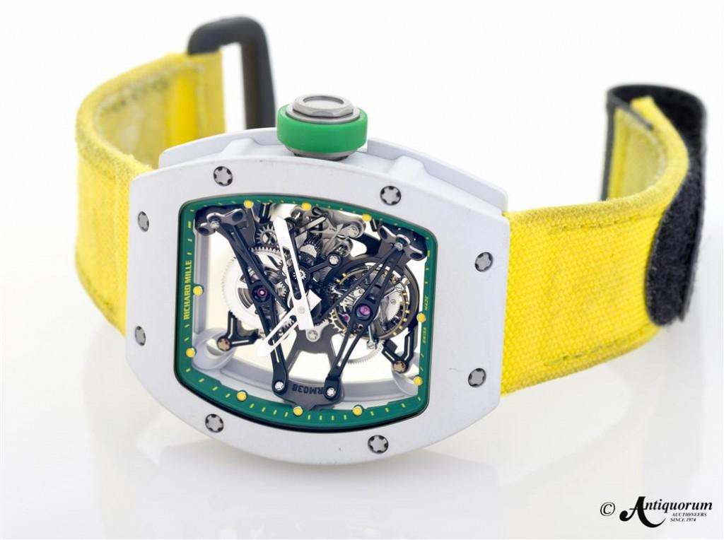 The Richard Mille RM038 worn by Yohan Blake at the 2012 Olympics