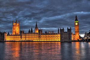 English: The Parliament of the United Kingdom