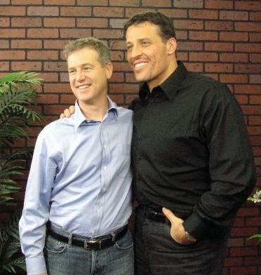 Internet Entrepreneur Jeff Walker with Tony Robbins