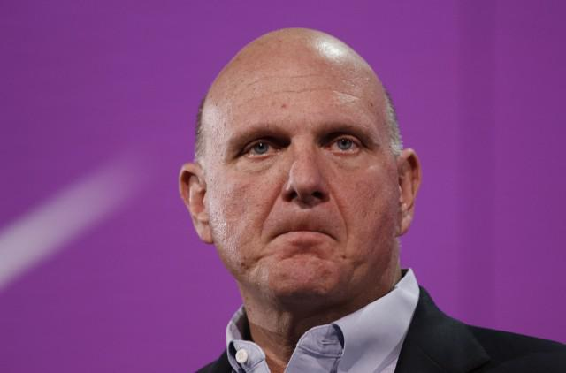 Microsoft CEO Steve Ballmer Credit: Kimihiro Hoshino/AFP/Getty Images