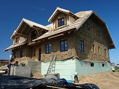 Straw Bale House Construction WM