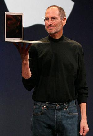 English: A cropped version of :Image:SteveJobs...